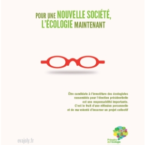 Eva Joly, campagne Europe Ecologie les Verts