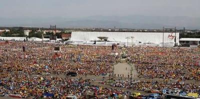 Journées Mondiales de la Jeunesse 2011 à Madrid, Pape Benoit XVI
