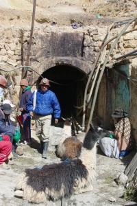 Mines d'argent de Potosi, Bolivie : Entrée de Candelaria