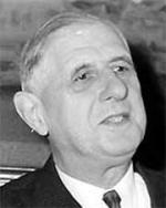 Charles de Gaulle, 18e président de la République française