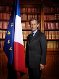 Nicolas Sarkozy, président de la République Française, le 21 Mai 2007