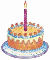 Gateau d'anniversaire pour les 1 an de Pandora Vox