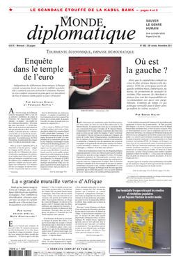 Le Monde Diplomatique Novembre 2011