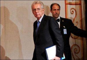 Mario Monti président du conseil Italien