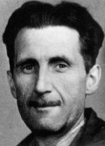 George Orwell, écrivain Anglais auteur de '1984' et de 'La fermes des animaux'