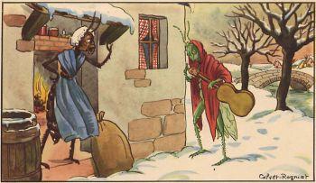 Jean de la Fontaine, la Cigale et la Fourmi
