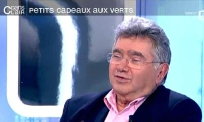 """Claude Allegre lundi à """"C dans l'air"""""""