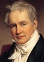 Alexandre von Humbolt, naturaliste, géographe et explorateur allemand