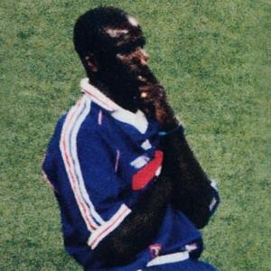 Lilian Thuram face à la Croatie en 1998 après ses deux buts