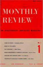 Le premier numéro du Monbthly Review d'où est extrait cet essais d'Albert Einstein