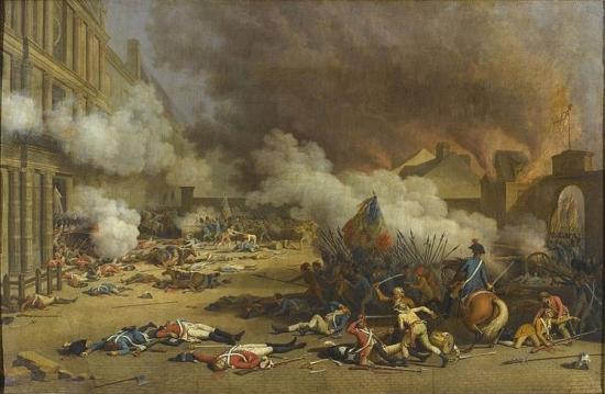 10 Aout 1792: prise des Tuileries