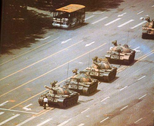 1989 Place Tian'anmen, le rebelle inconnu