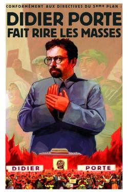 Affiche Didier Porte Fait Rire Les Masses