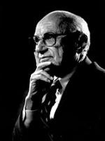 Milton Friedman, économiste, ardent défenseur du libéralisme