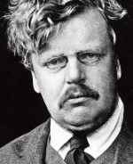 Gilbert Keith Chesterton, écrivain Anglais