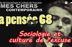 L'émission Mes chers contemporains consacrée à la culture de l'excuse