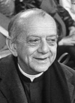 Hélder Câmara, évêque catholique brésilien, archevêque d'Olinda et Recife de 1964 à 1985, qui est connu pour sa lutte contre la pauvreté dans son diocèse et dans le monde.