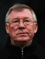 Sir Alex Ferguson, coach de Manchester United