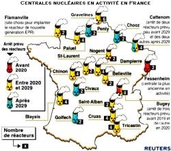Centrales nucléaires en France