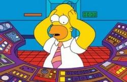 Homer Simpson, centrale nucléaire