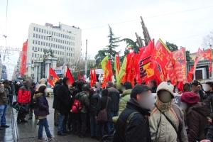 Manifestation de soutien aux révolutions Arabes, Istiklal