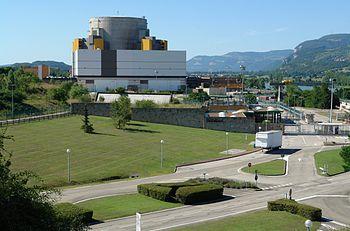 Superphénix centrale nucléaire de Creys-Malville
