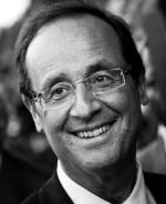 François Hollande, candidat à l'élection présidentielle 2012 pour le Parti Socialiste